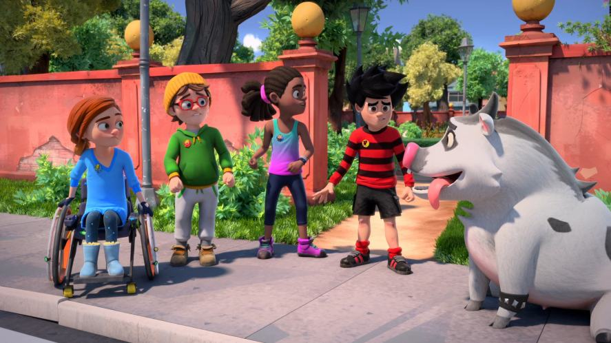 The gang try to work out who's been telling porkies in Dennis & Gnasher Unleashed! Episode 23: Pig Trouble In Little Beanotown