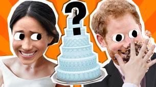 Megan and Harry's Wedding Cake quiz