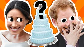 Megan and Harry's Wedding Cake quiz