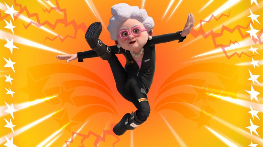 Gran from Dennis & Gnasher Unleashed!