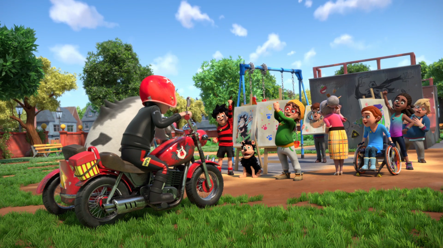 Dennis & Gnasher Unleashed! - Gran's turn to go to the skatepark