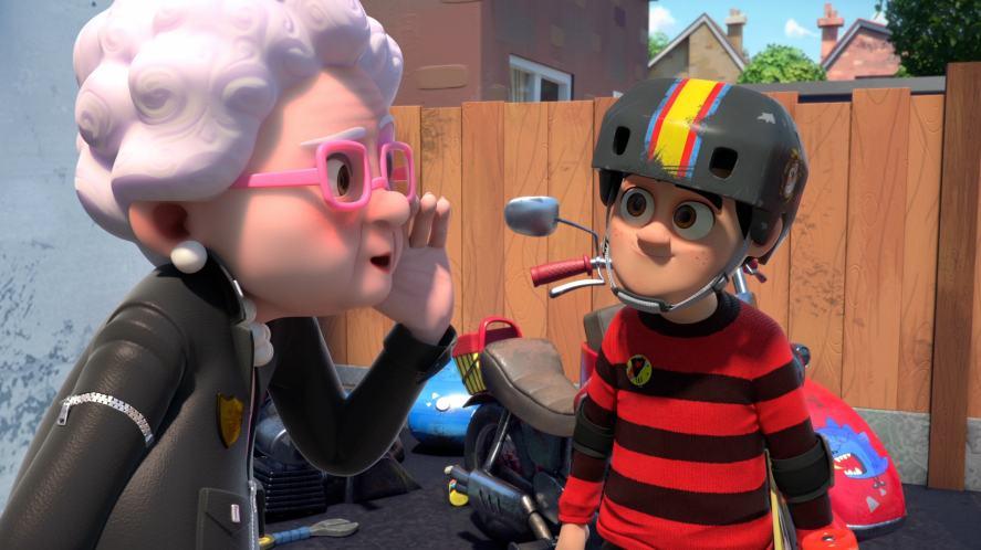 Dennis & Gnasher Unleashed! - Gran and Dennis share some secrets