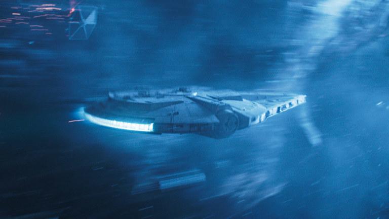 Han Solo's spaceship