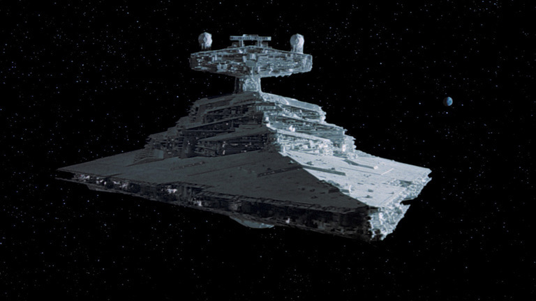 This spaceship first appeared in The Empire Strikes Back