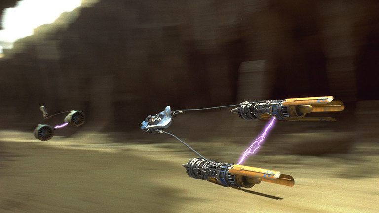 What's the name of this vehicle that Anakin Skywalker piloted?