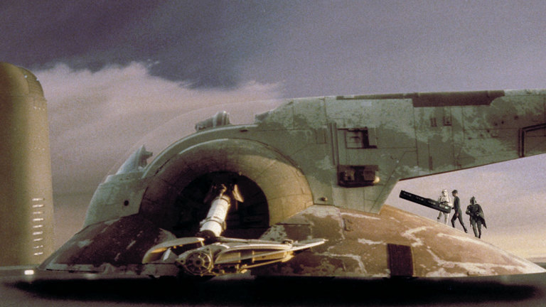 Boba Fett used this space vehicle