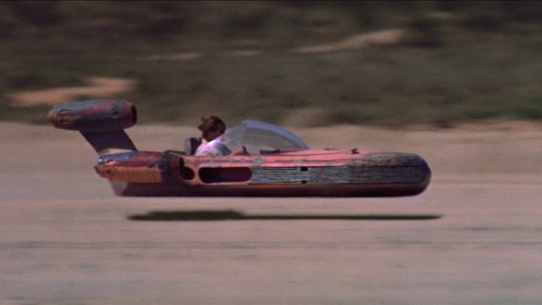 What's the name of Luke Skywalker's vehicle