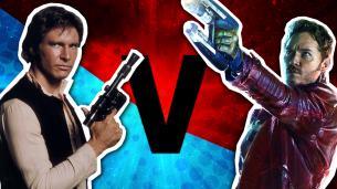 Han Solo vs Star Lord