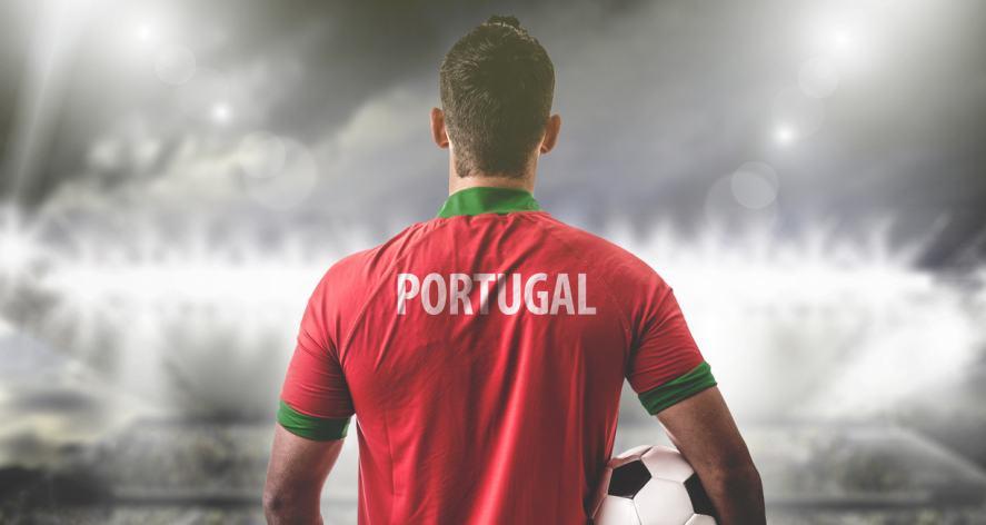 A Portuguese football player