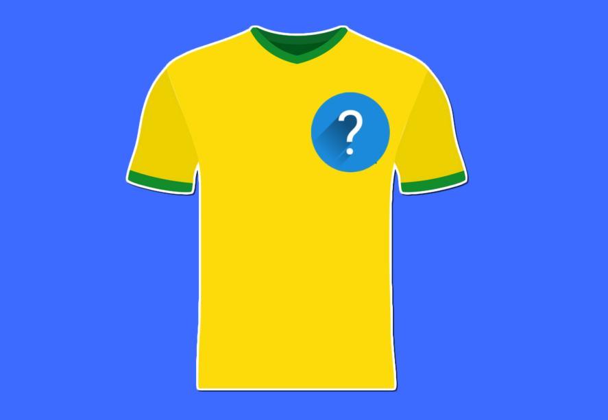 A bright yellow football shirt