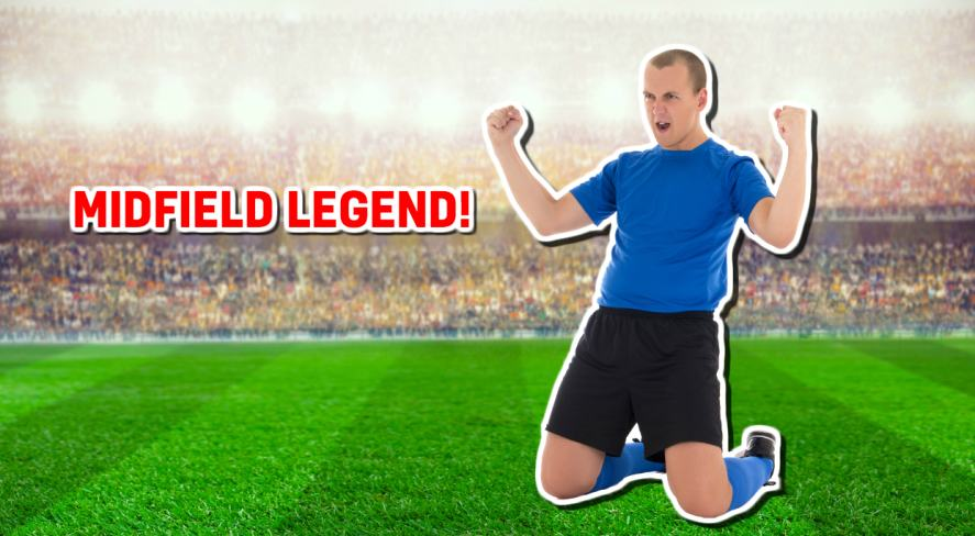 Midfield legend!