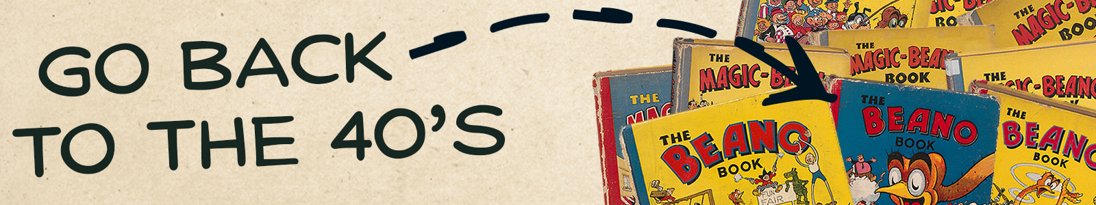 See all the 1940's Beano Annuals