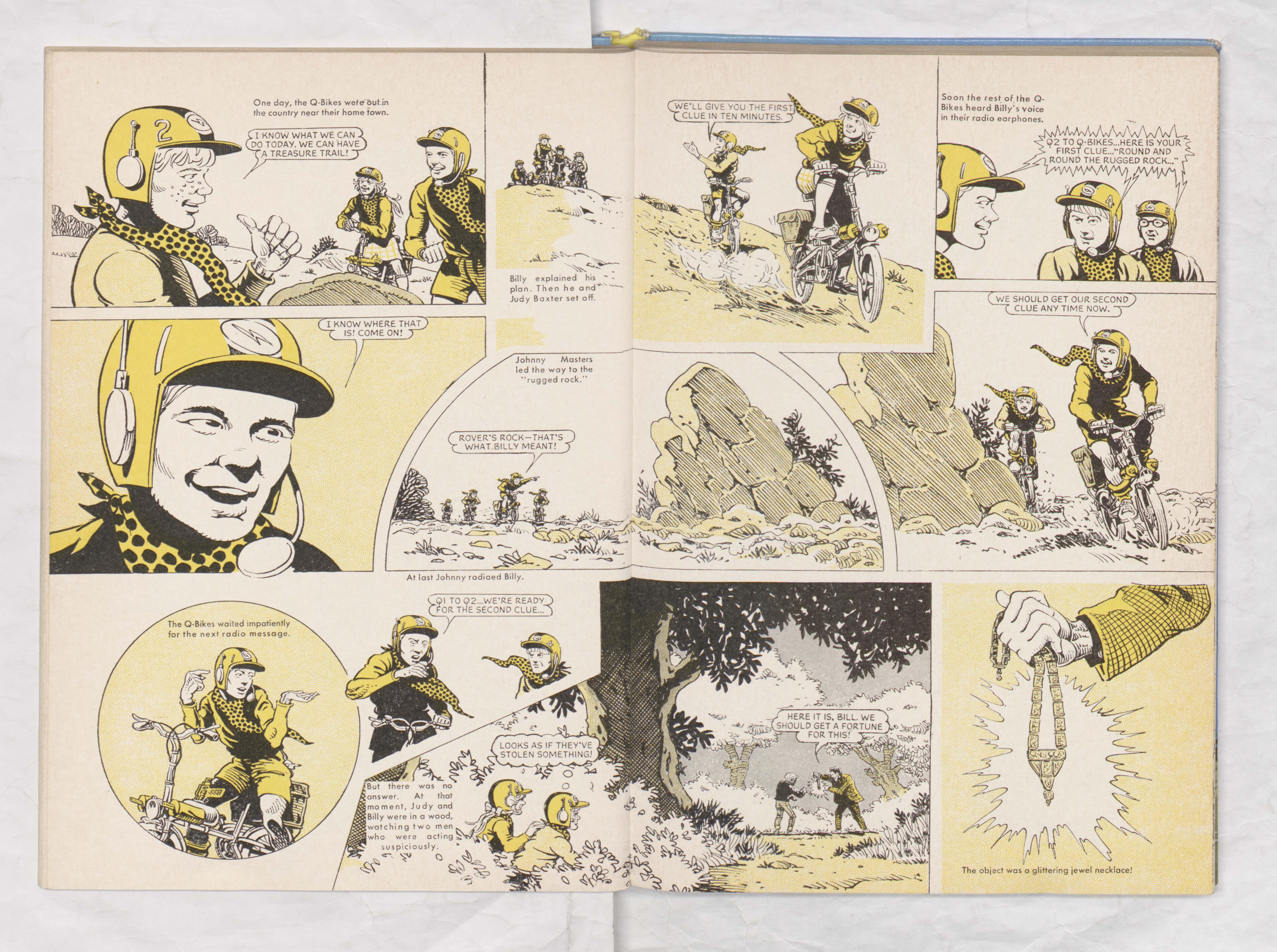 Beano Book 1970 - Q-Bikes - Page 2 + 3