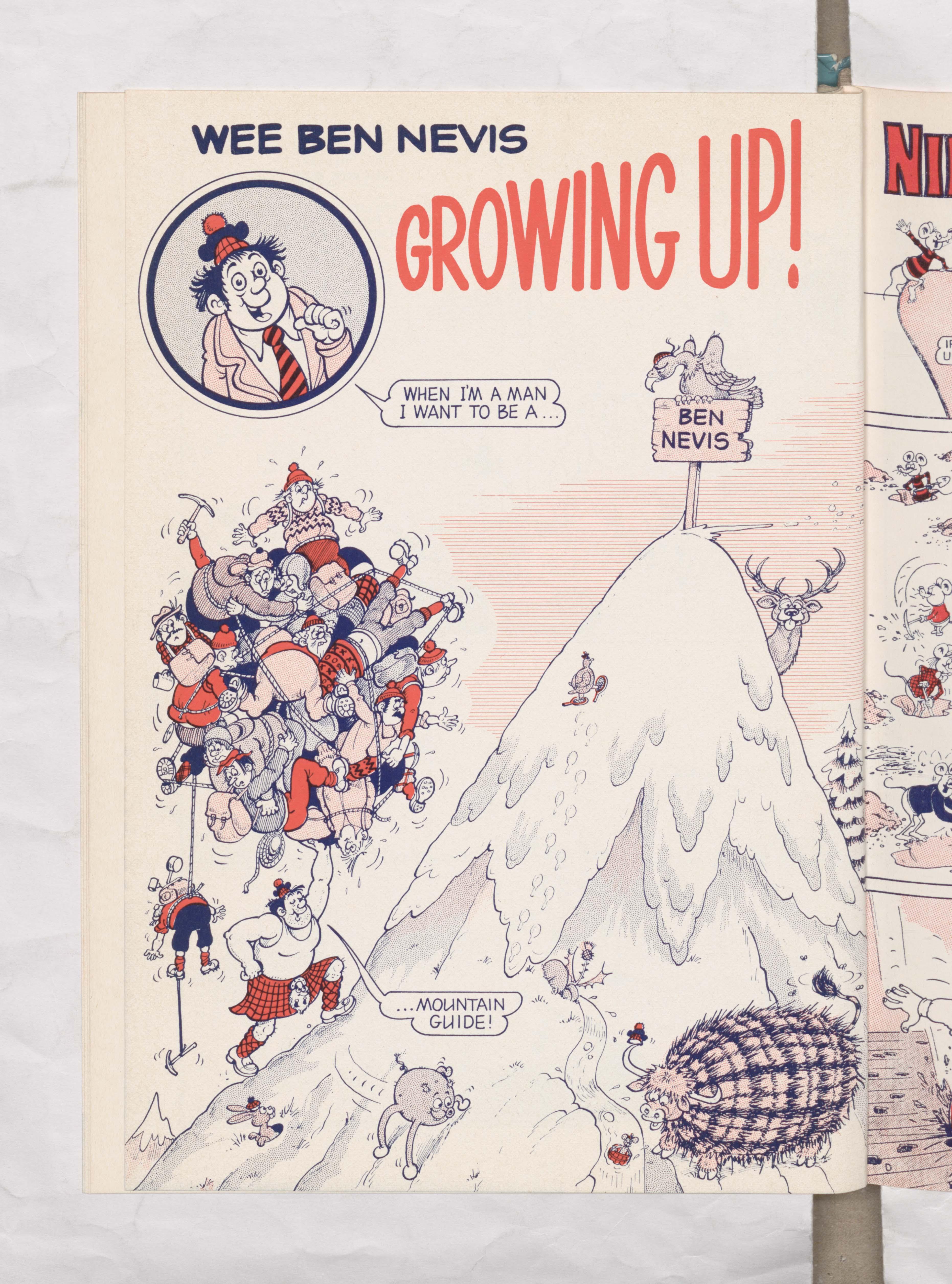 Beano Book 1976 Annual - Ben Nevis grows up