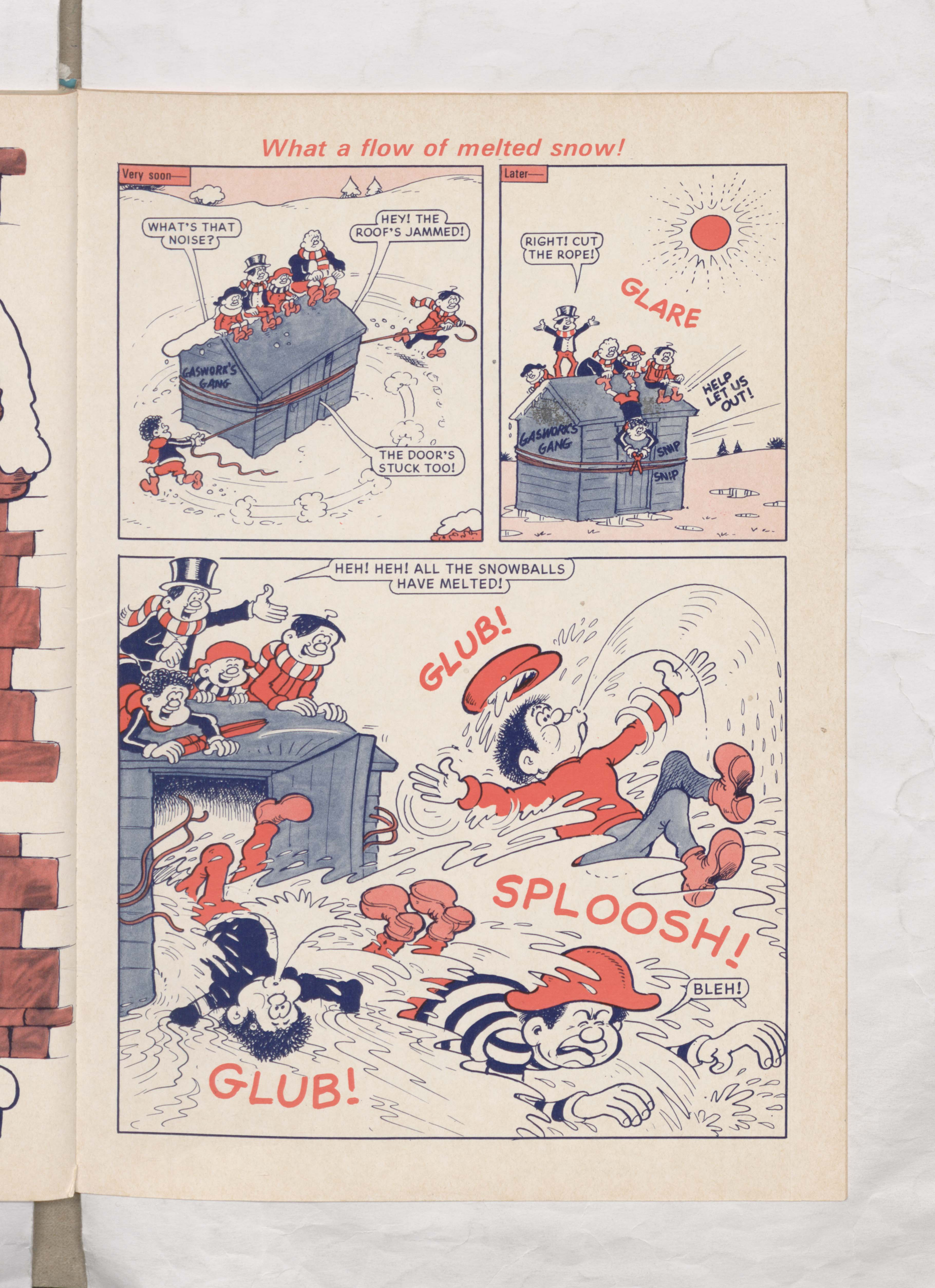 Beano Book 1978 Annual - Lord Snooty's Snowman - Page 4