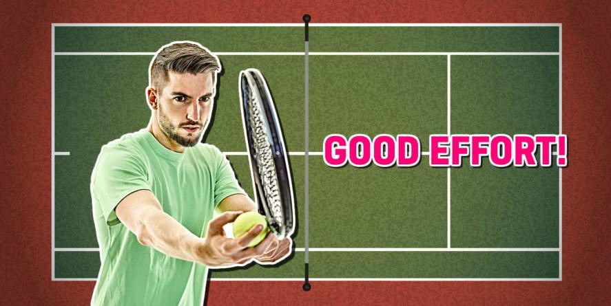 Good effort –a tennis quiz