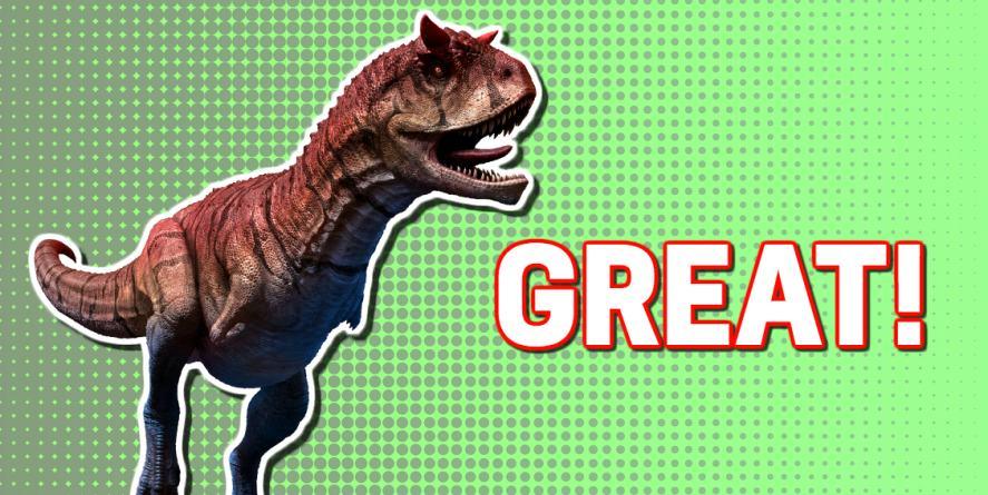 Dinosaur quiz: a great score!