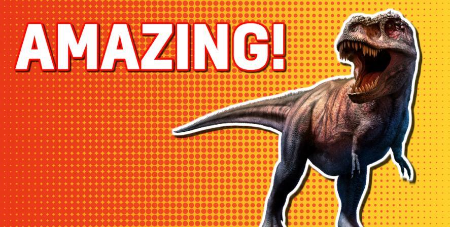 Dinosaur quiz: an amazing score!