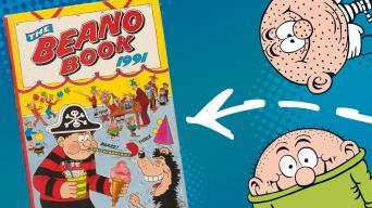 Beano Book 1991 Annual