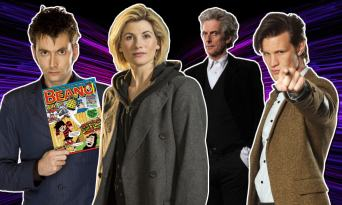Doctor Who and the Beano –a history