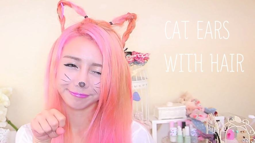 Wengie dresses as a cat