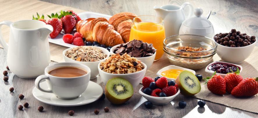 A massive breakfast