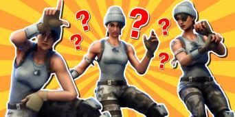Fortnite dance quiz