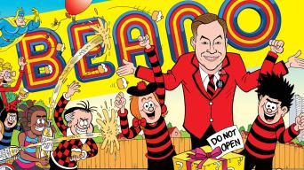 Inside the MEGA 80th birthday Beano feat. David Walliams!