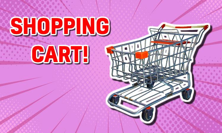 A Fortnite Shopping Cart