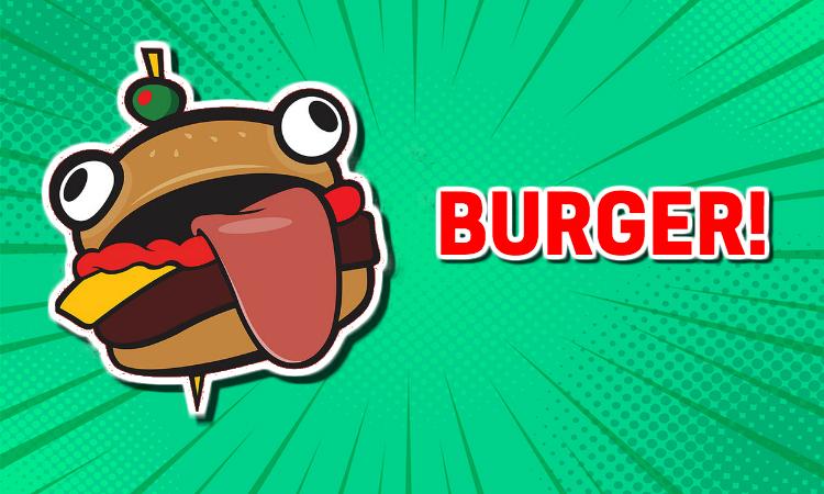 A Fortnite Burger
