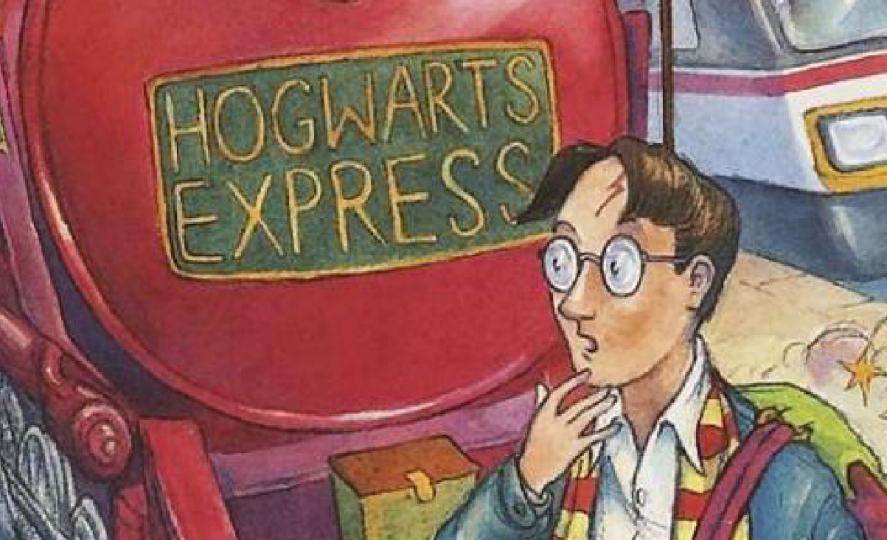Harry Potter book written by JK Rowling