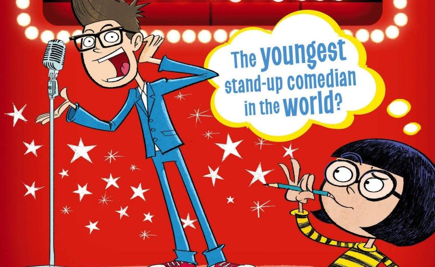 Harry Hill wrote a book about a young stand-up comedian