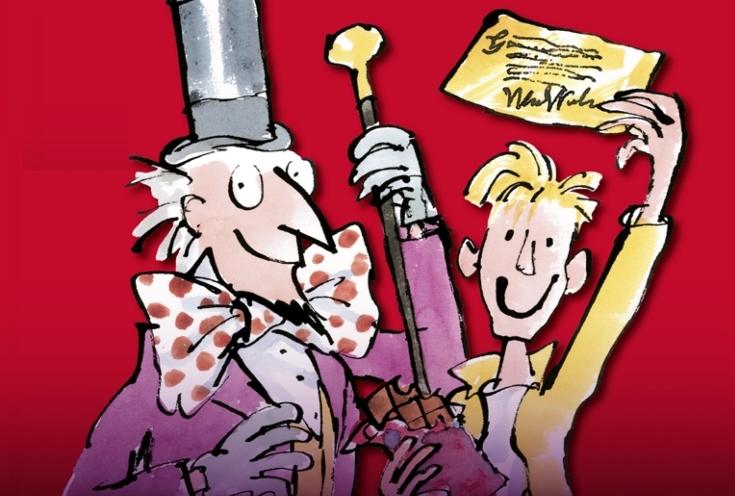 Roald Dahl's story of a lucky boy