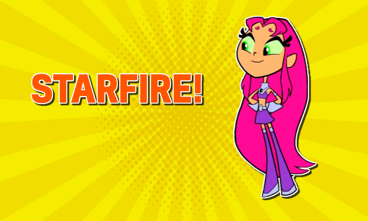 Teen Titans Go –Starfire