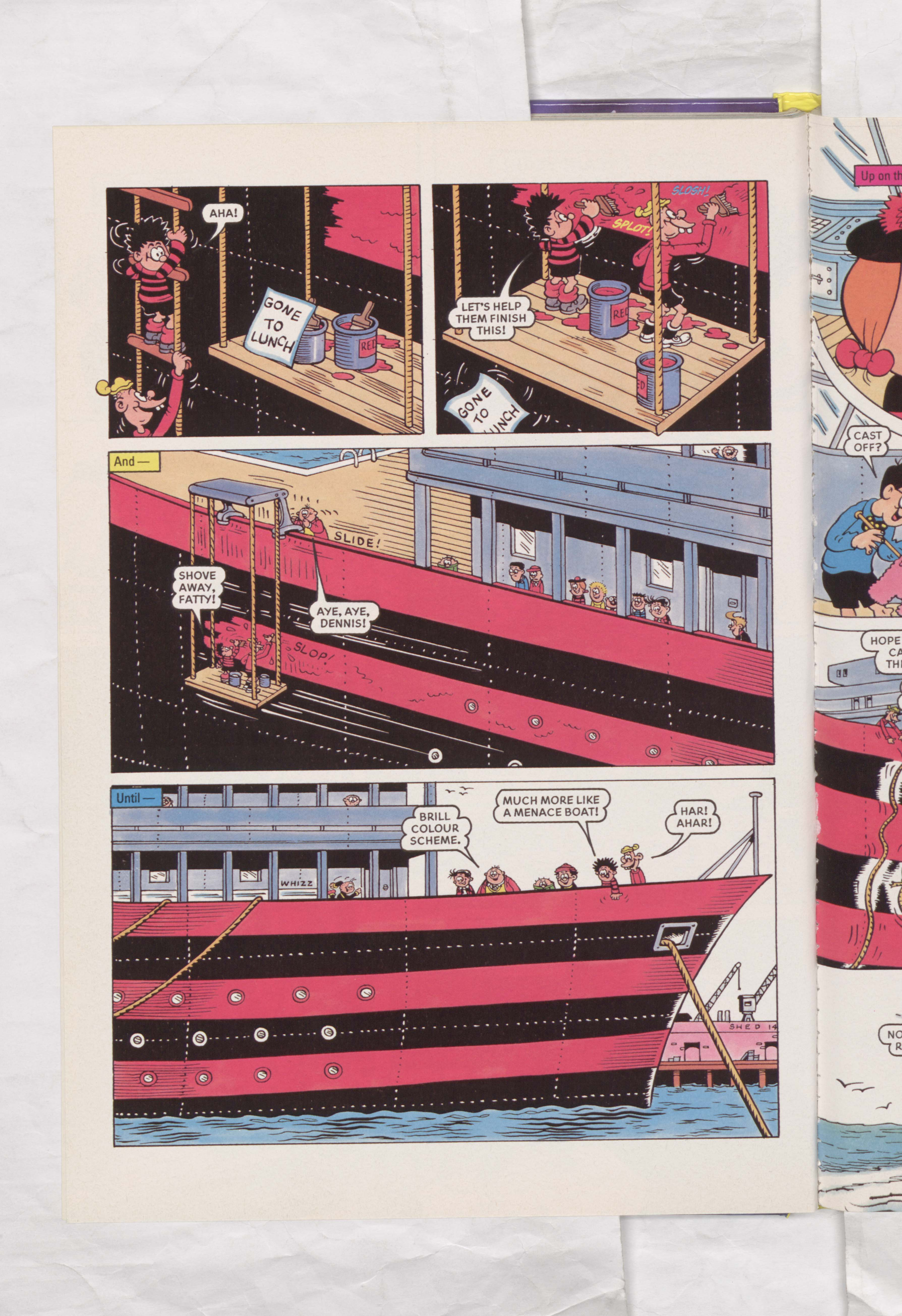 The Beano Stars Cruise Round the World - Beano Book 2000 Annual - Page 4