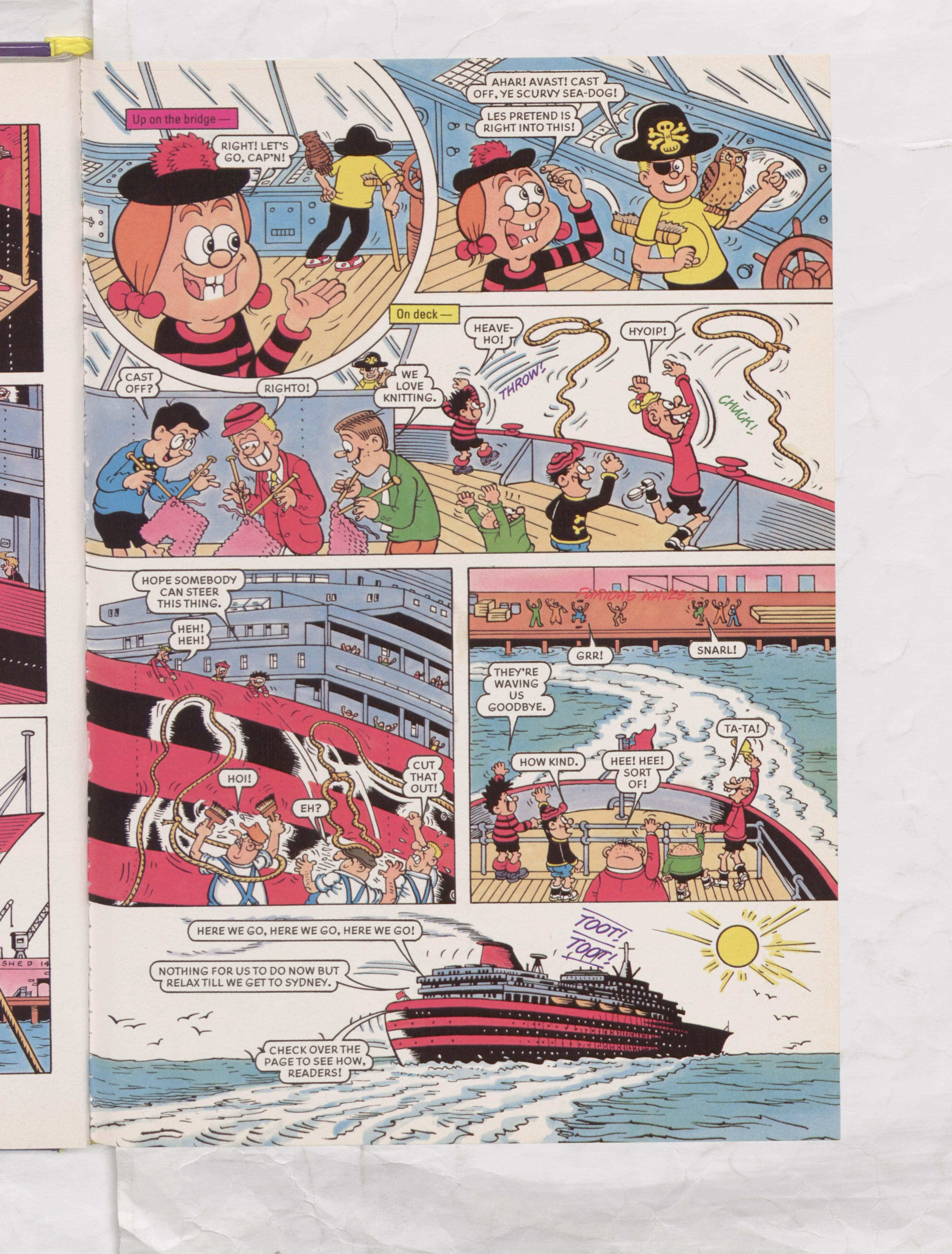 The Beano Stars Cruise Round the World - Beano Book 2000 Annual - Page 5