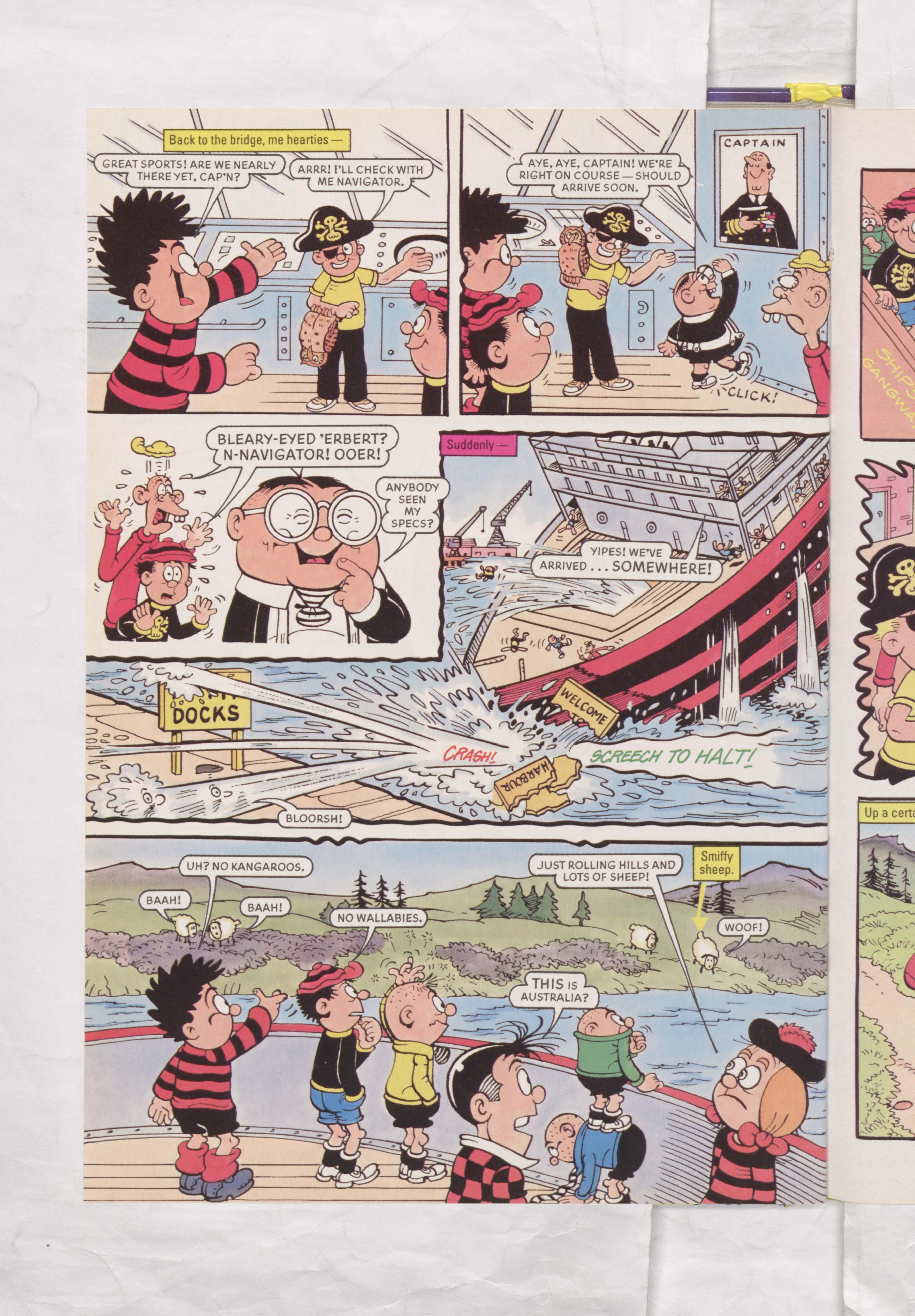 The Beano Stars Cruise Round the World - Beano Book 2000 Annual - Page 14