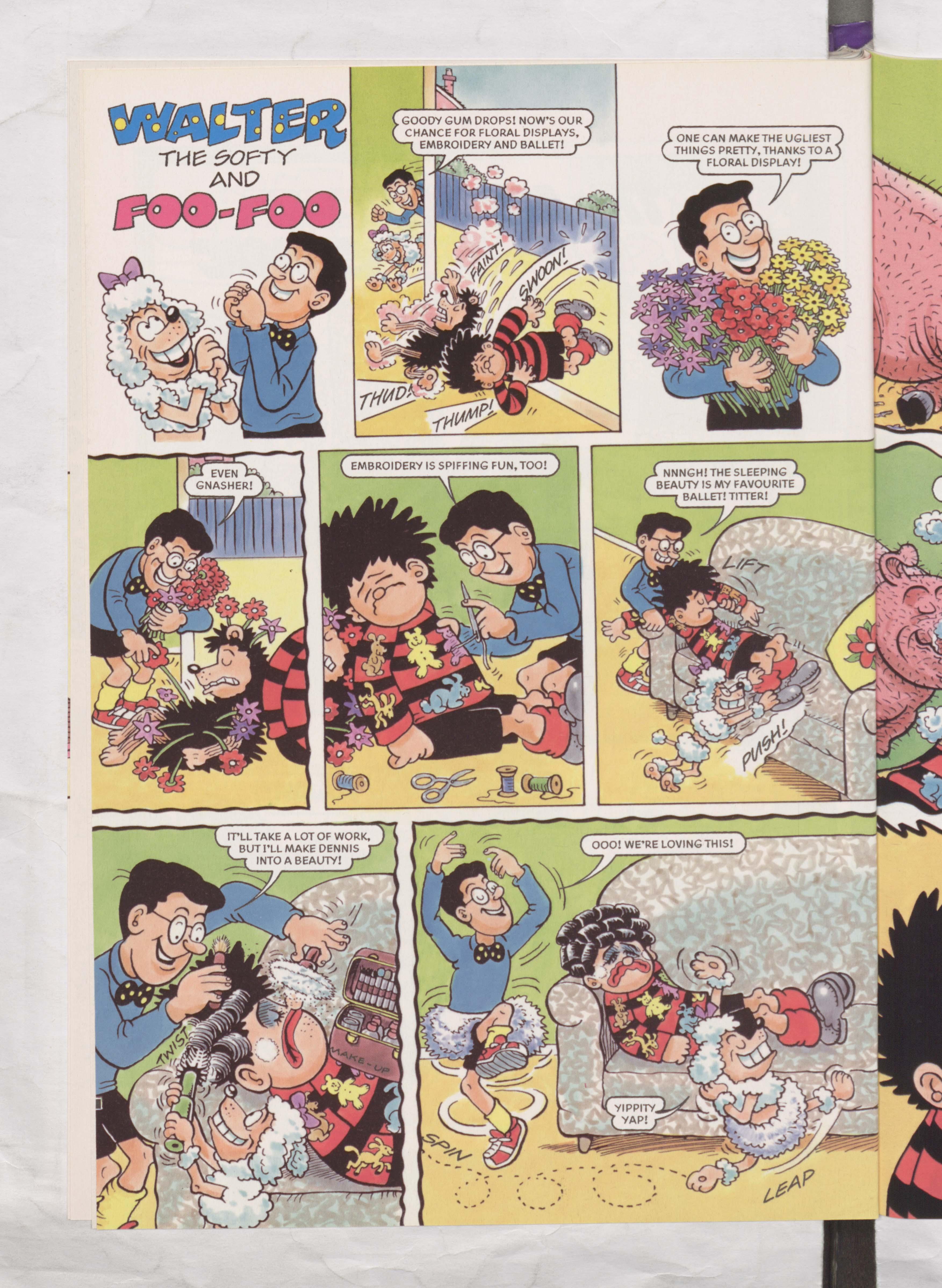 Walter and Foo-Foo - Beano Book 2002