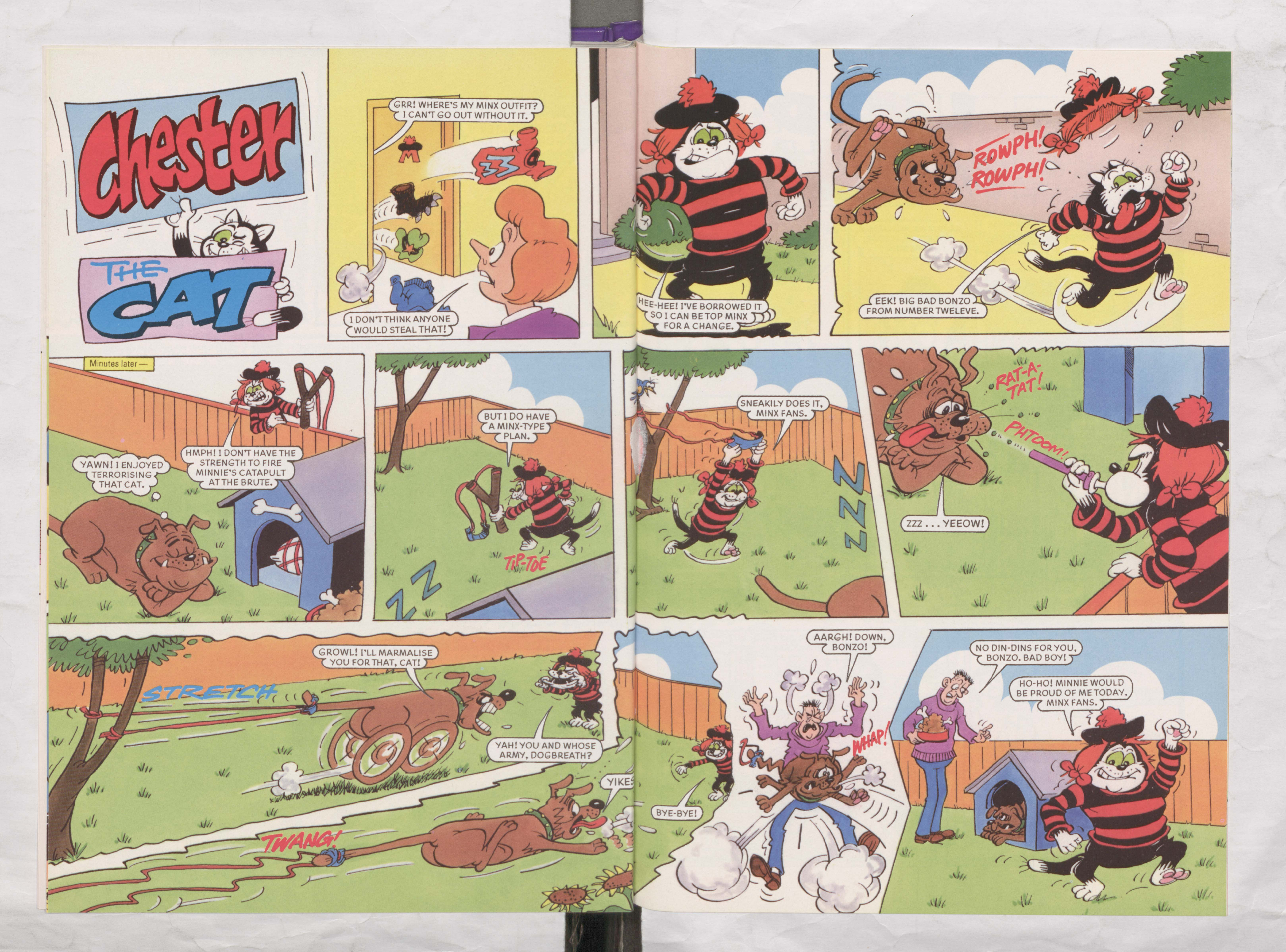 Chester the Cat - Beano Book 2002