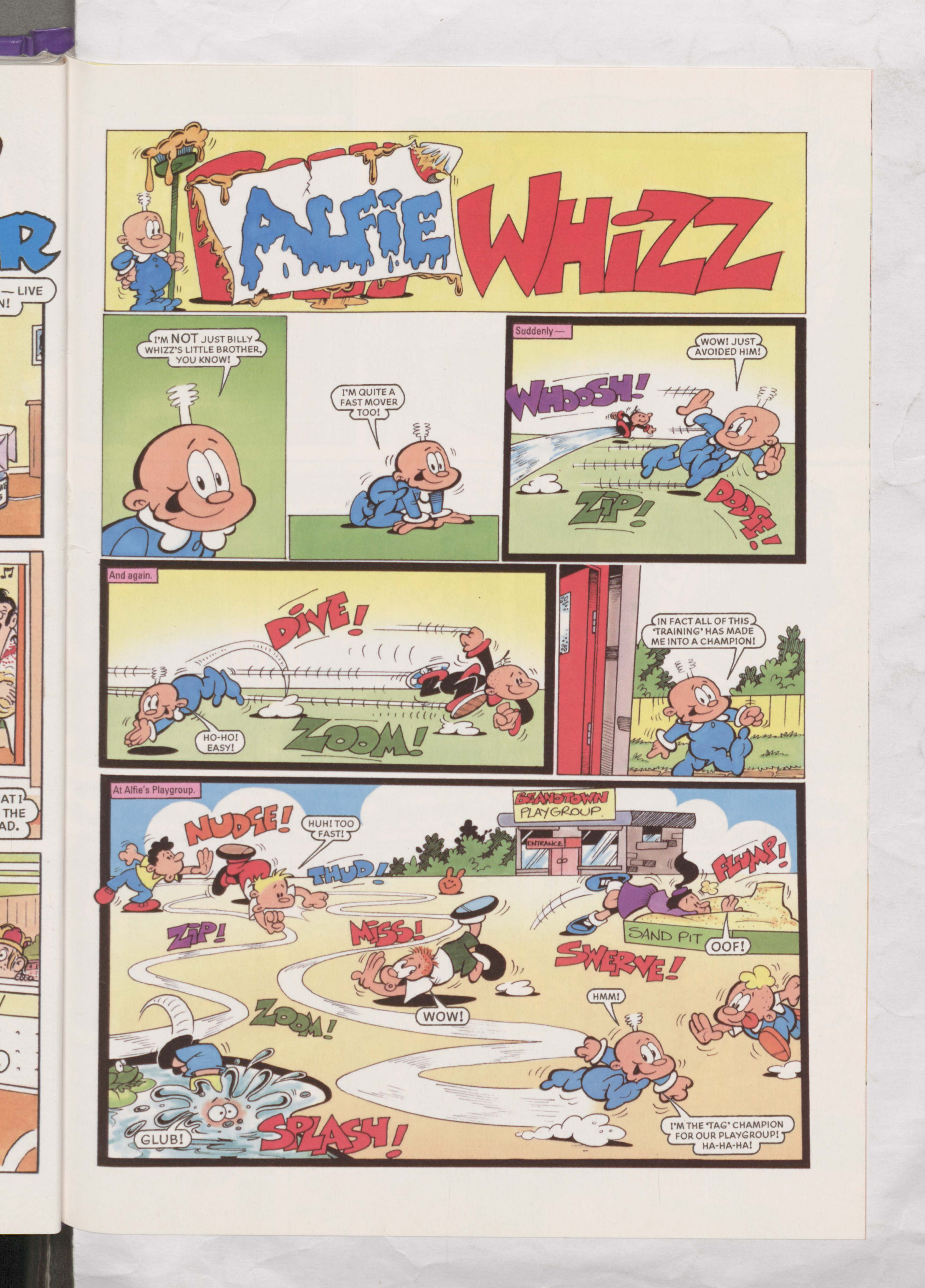 Alfie Whizz - Beano Book 2002