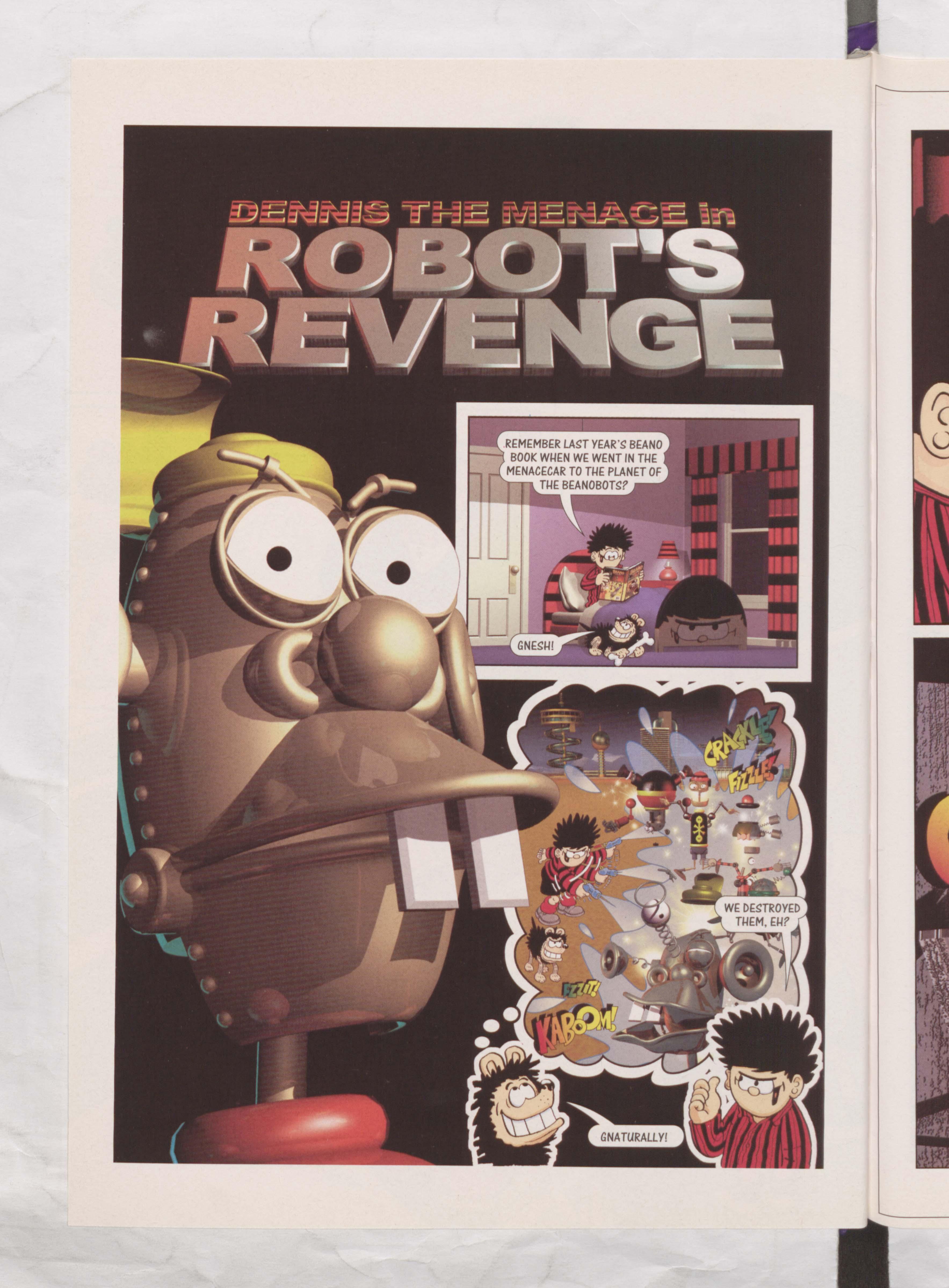 Robot's Revenge - Beano Book 2002