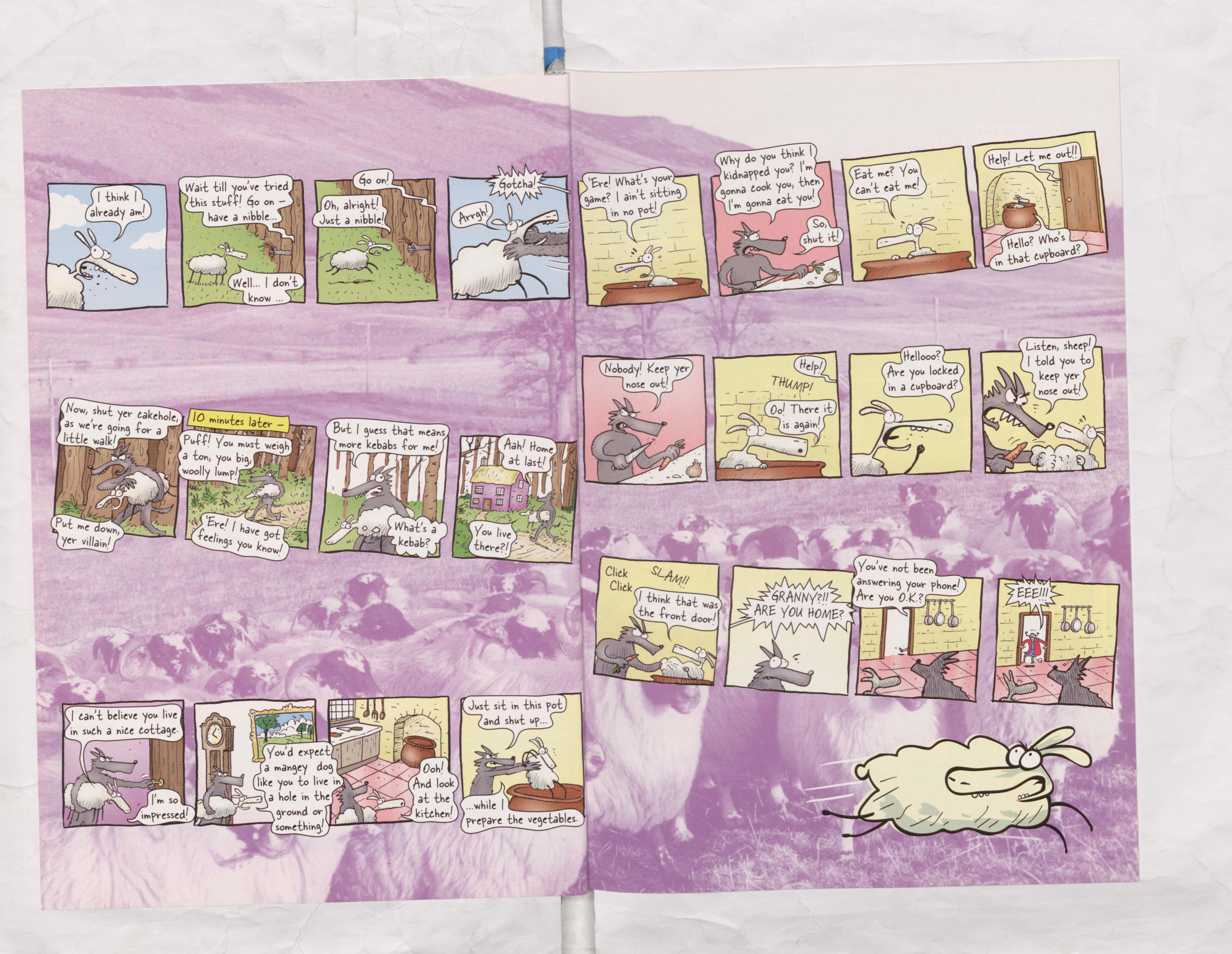 Derek the Sheep - Beano Annual 2006