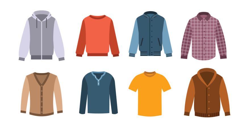 A selection of coats