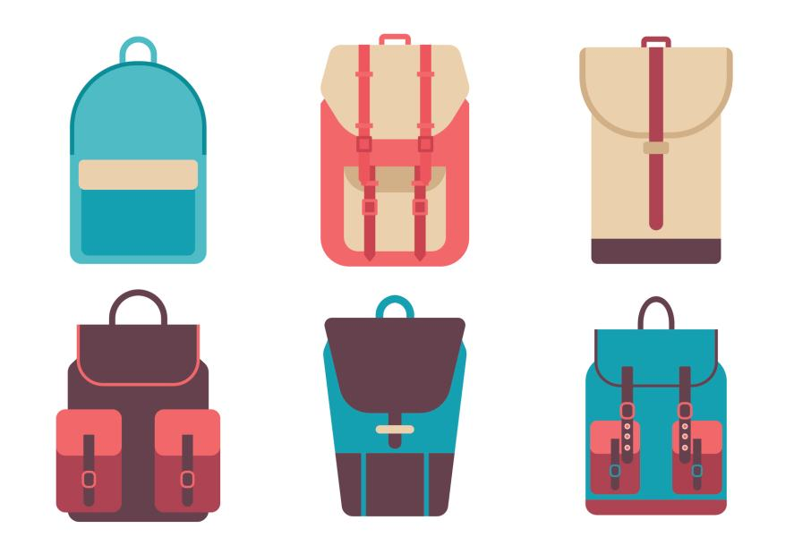 A selection of bags