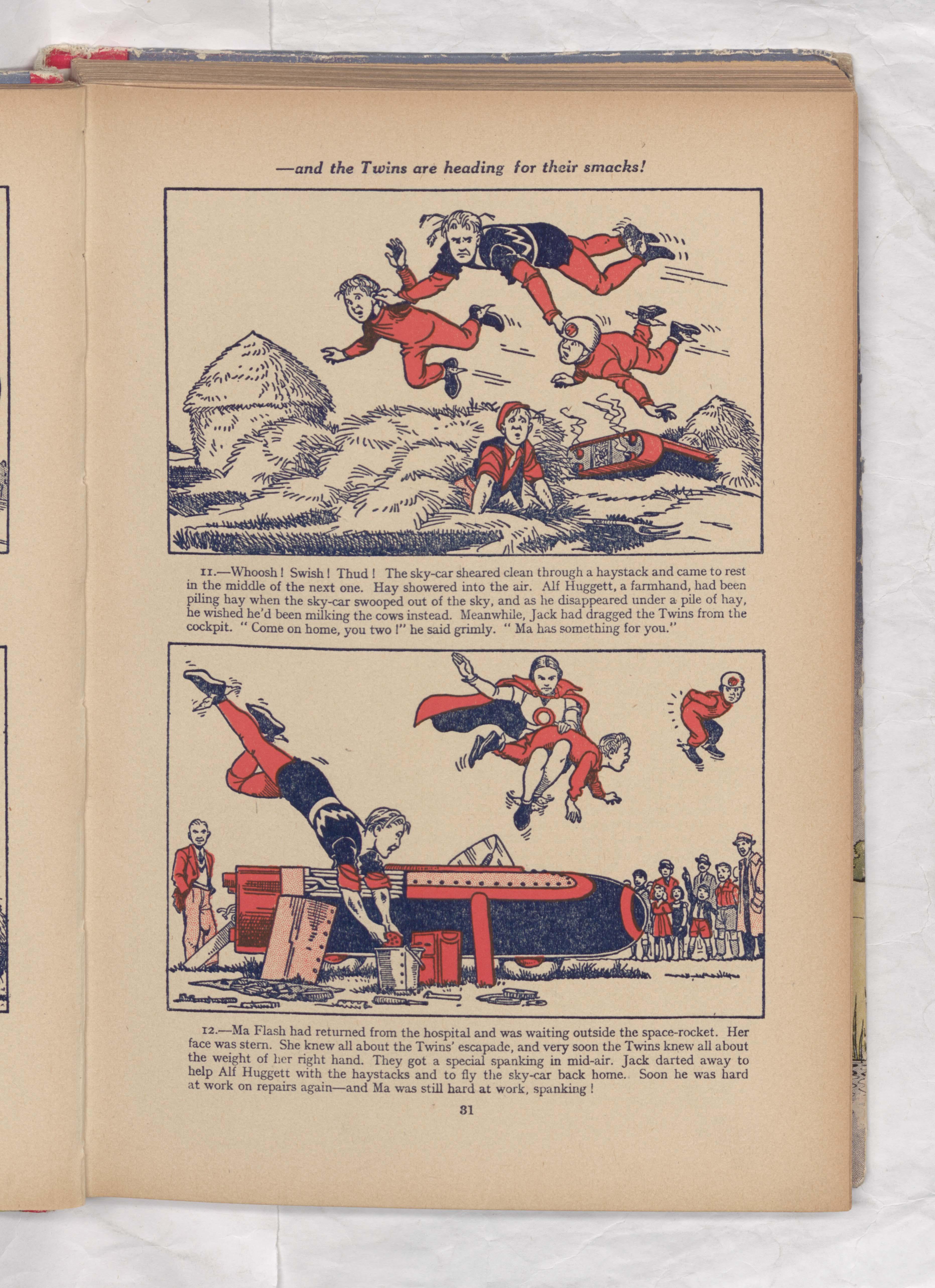 jack flash beano book 1953 annual