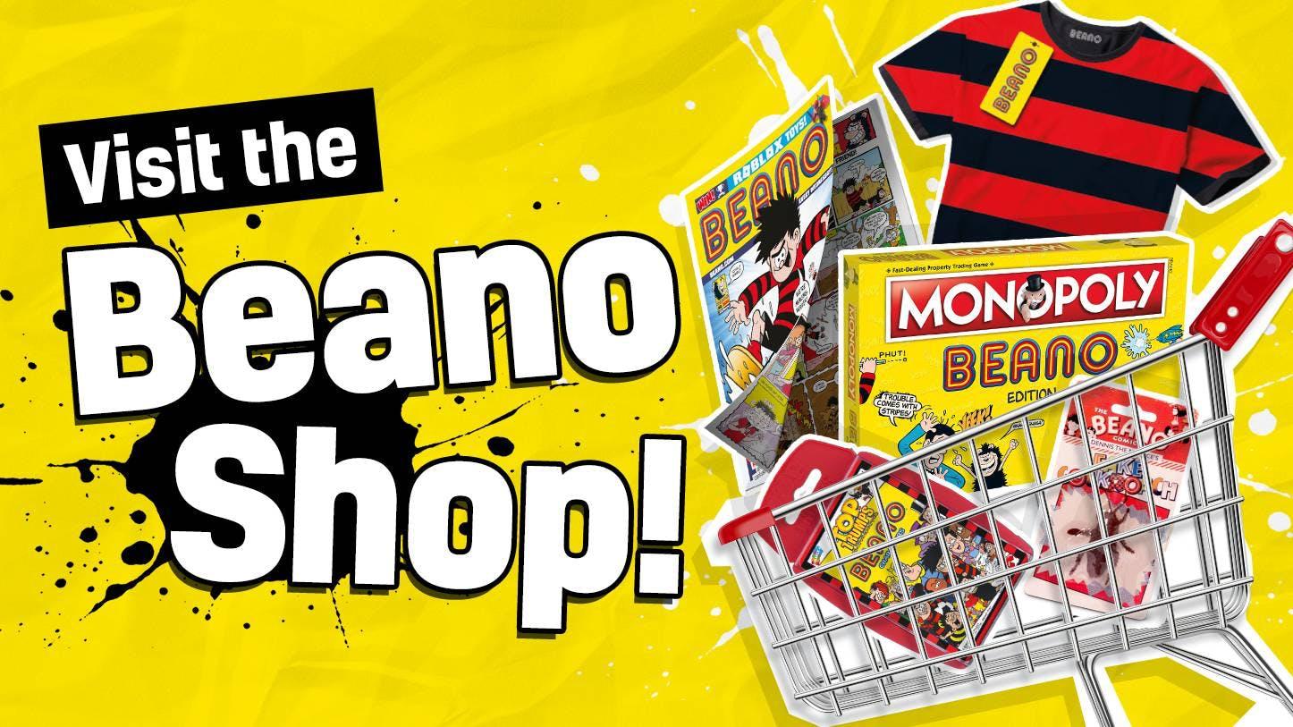 Visit the Beano Shop!
