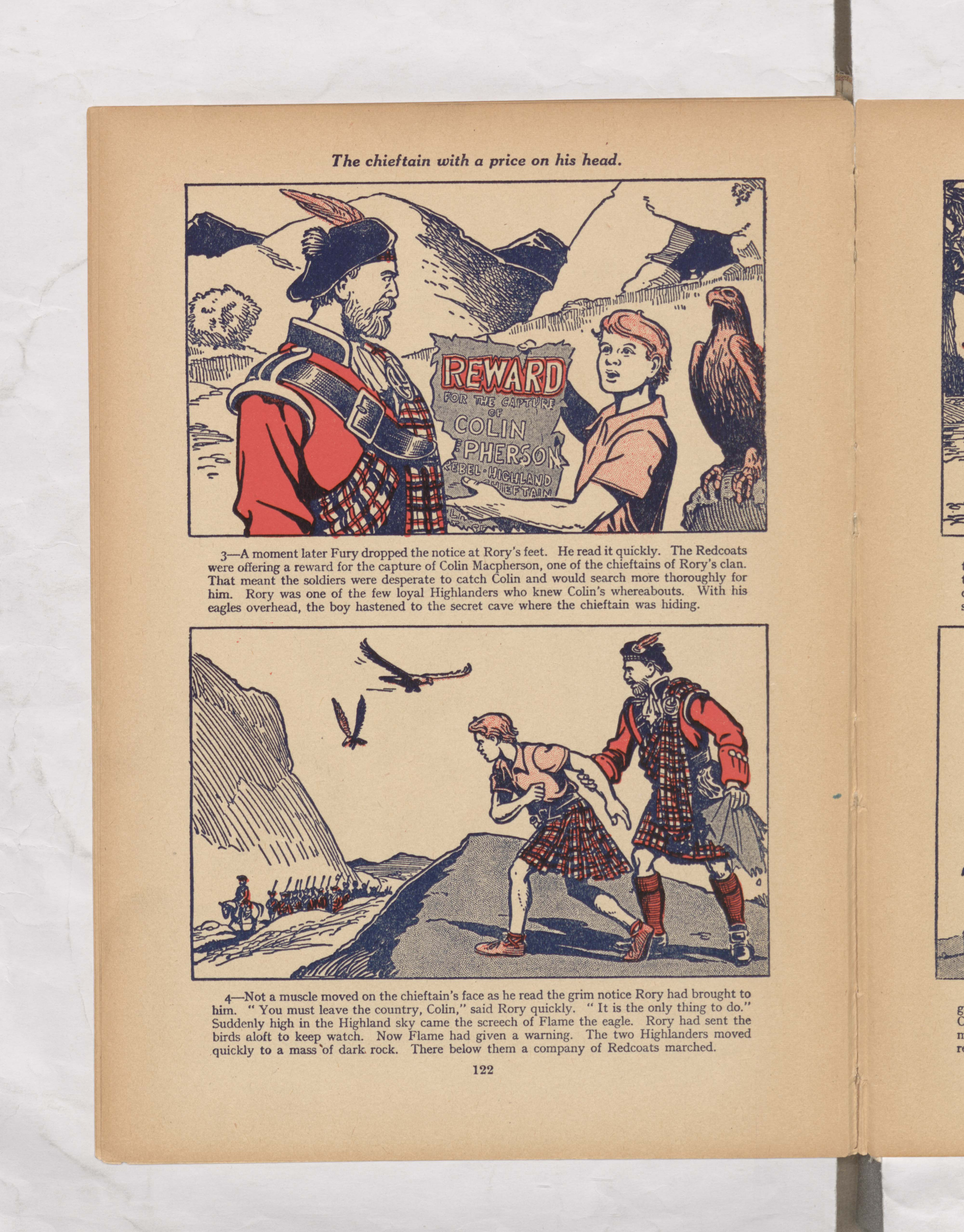 red rory of the eagles Beano Book 1954 Annual