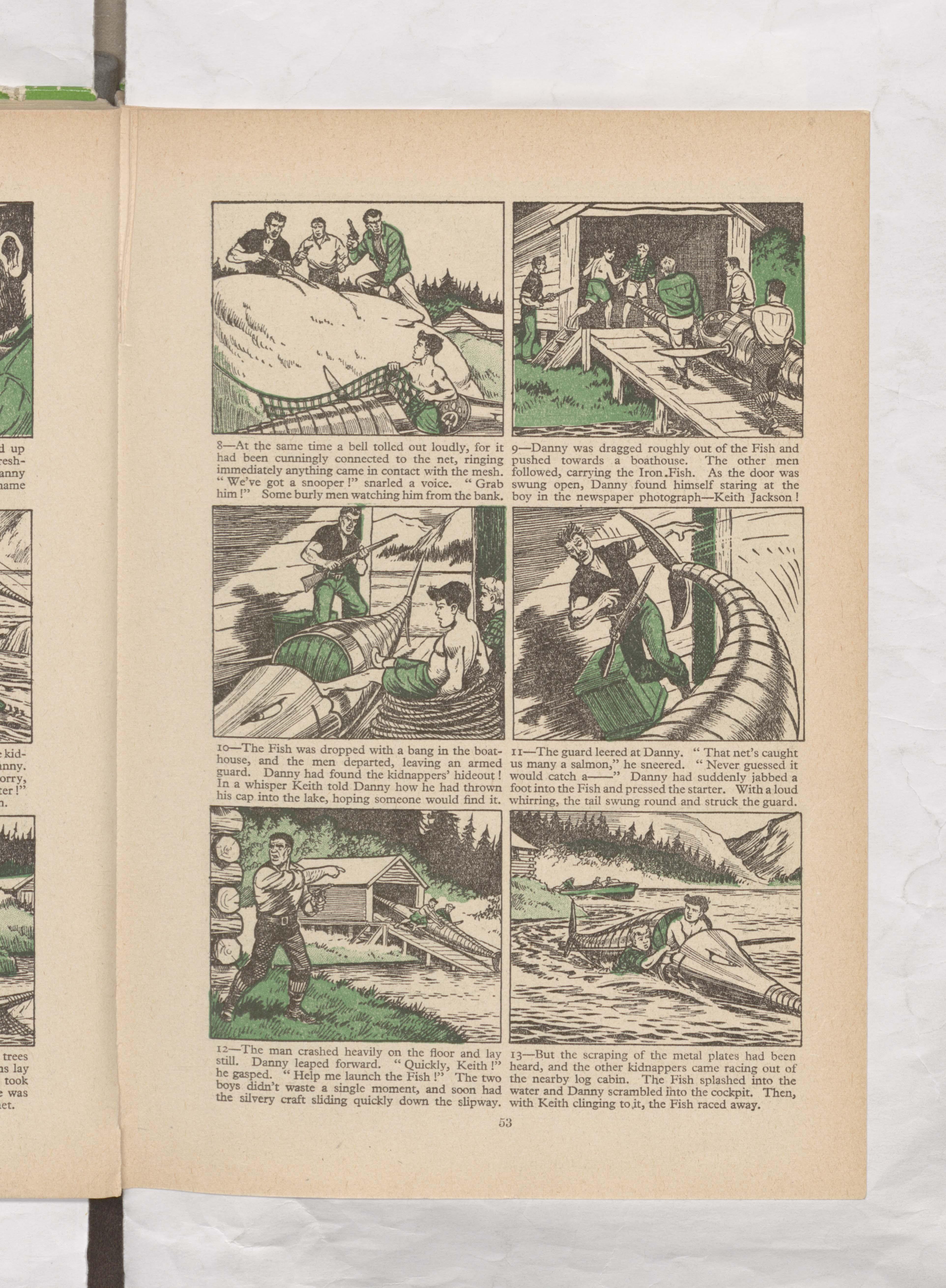 the iron fish Beano Book 1957 Annual