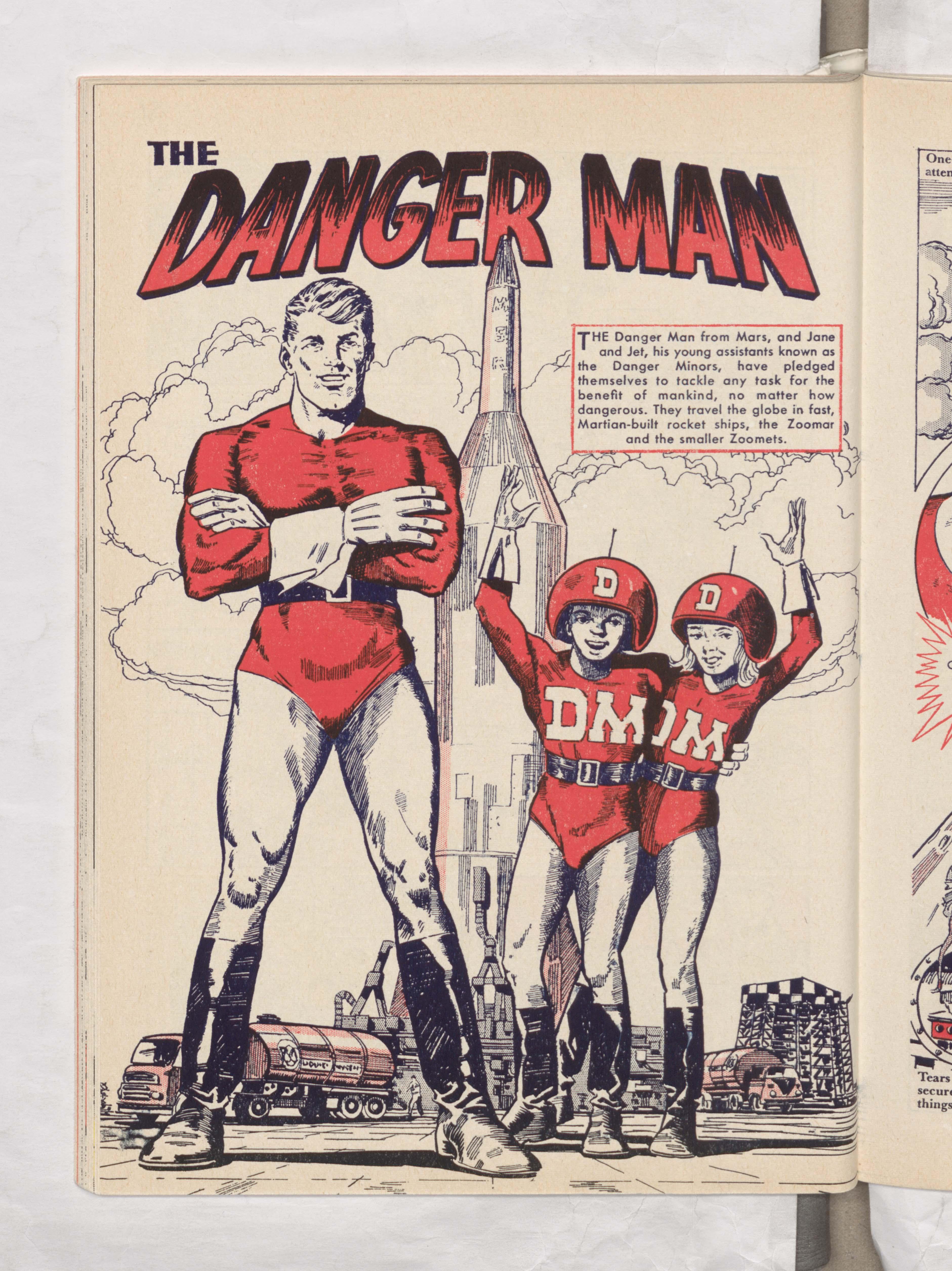 Danger Man - Beano Book 1962 Annual