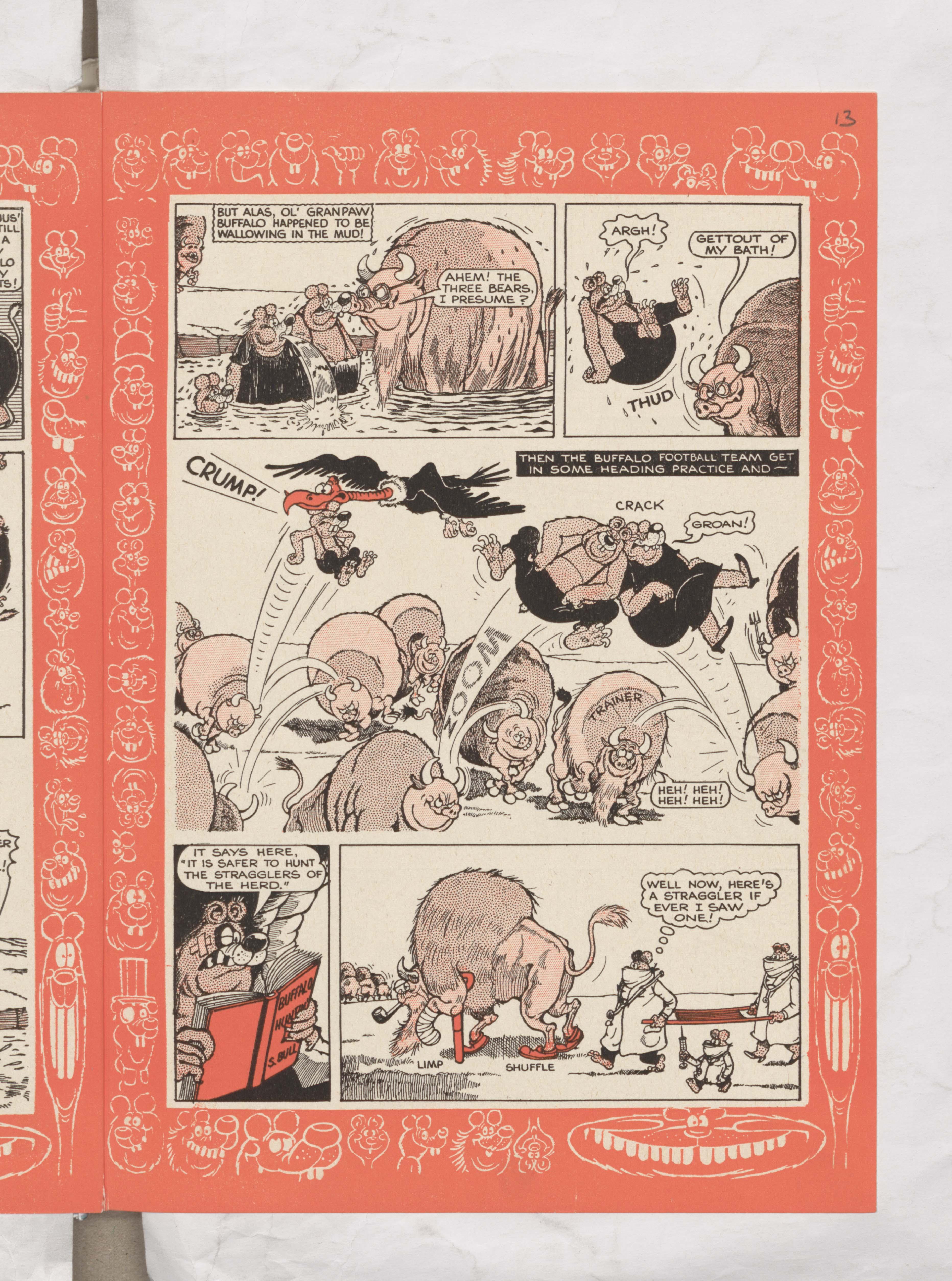The Three Bears - Beano Book 1962 Annual